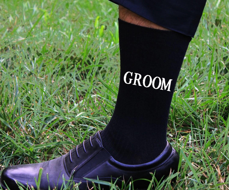Grooms Socks Wedding Gift Idea Mens Wedding Socks Gift from