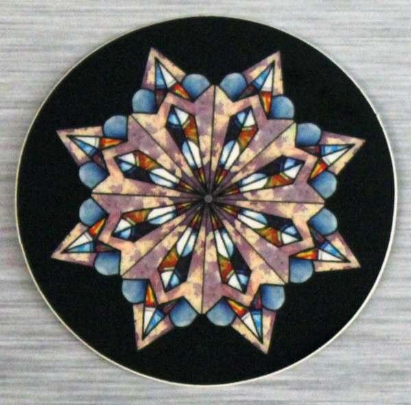 Hopi Winter Mandala Sticker Outdoor Vinyl