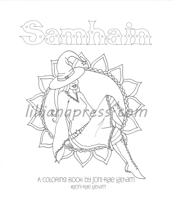 Mabon PDF Coloring Book
