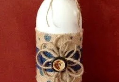 Unique Wine Bottle Decor Related Items Etsy