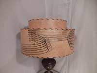 Fiberglass Shade Mid Century Lamp Shade 2 by bluejeanjulie
