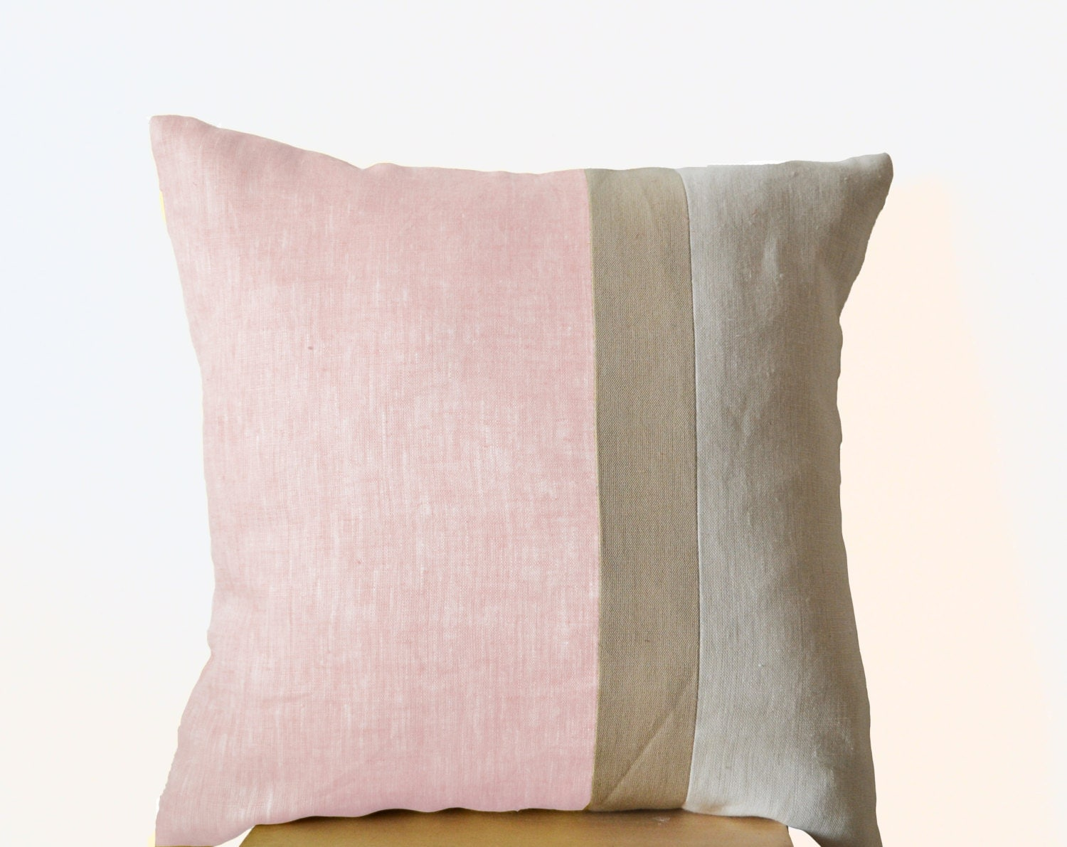 pink throw pillows for sofa chesterfield living room design ideas pillow color block couch