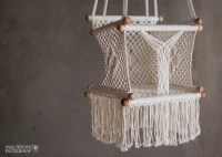 Baby Swing Chair in Macrame Soft Cotton by HangAHammock on ...