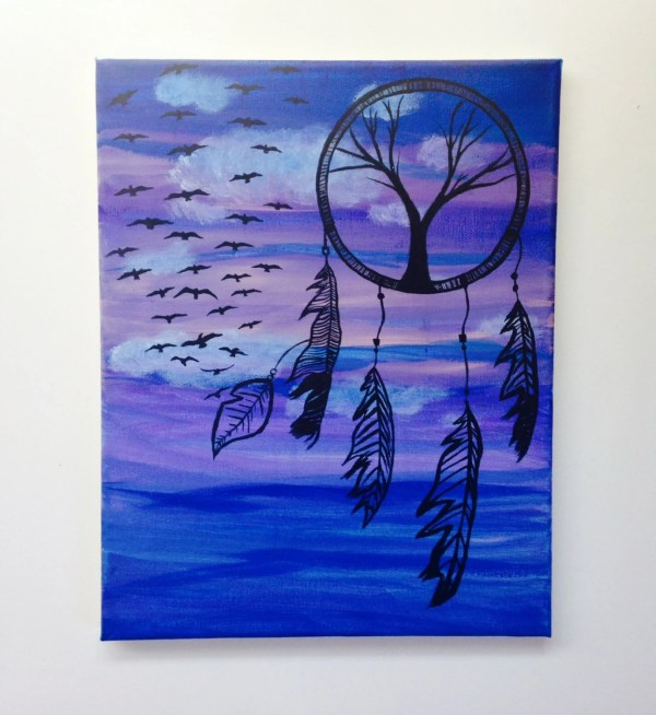 Dream Catcher Painting Cheap Wall Art