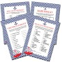 Nautical Baby Shower Games Instant Download Printable Diy