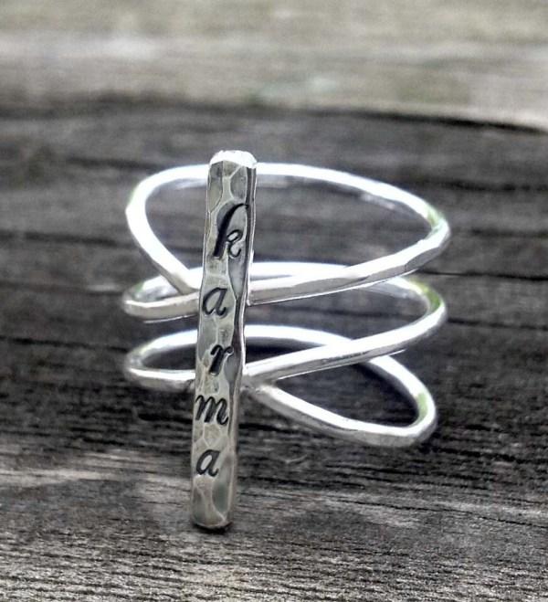 Sterling Karma Ring Donnaodesign