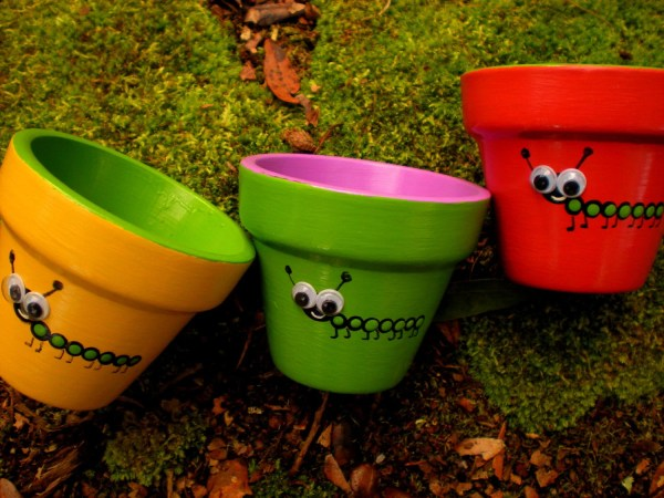 Flower Pot Decorations for Kids