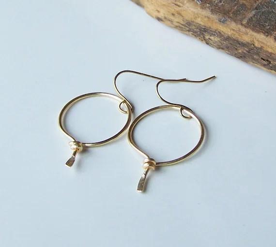Metalwork Earrings Hoop Earrings Permanent Colored Wire