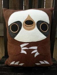 Sloth plush pillow cushion gift