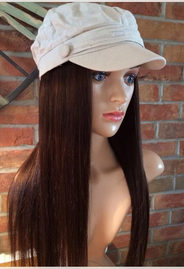 Stylish Chemo Hats With Human Hair Bespoke Wig