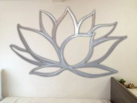 Lotus Flower Metal Wall Art by INSPIREMEtals on Etsy