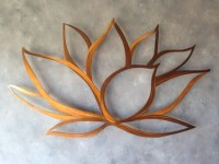 Lotus Flower Metal Wall Art Lotus Metal Art by INSPIREMEtals