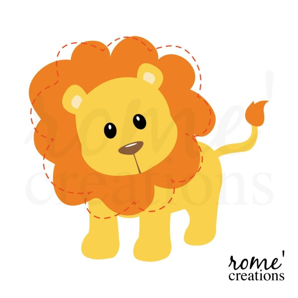 Lion Clip Art Clipart Jungle Animal