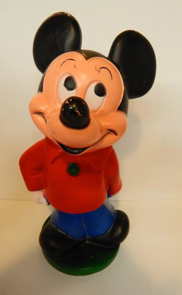 Mickey Mouse Walt Disney Piggy Bank Upyouralleyantiques