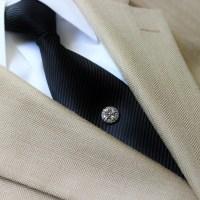 Tie Pin Tie Tack Pin Men's Tie Tacks Tie Tac Silver