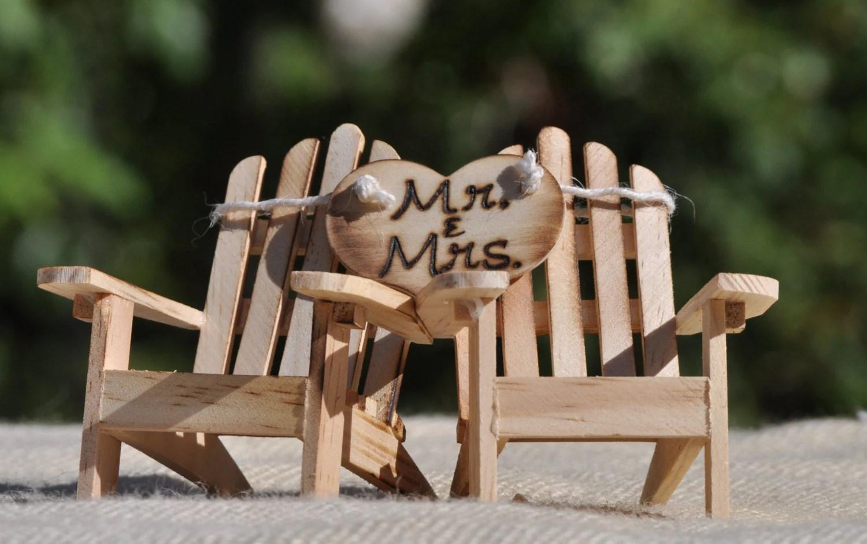 adirondack chair cake topper reclining rocking chairs beach wedding cottage