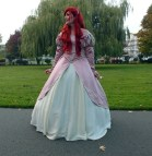 Disney Princess Ariel Pink Dress Costume