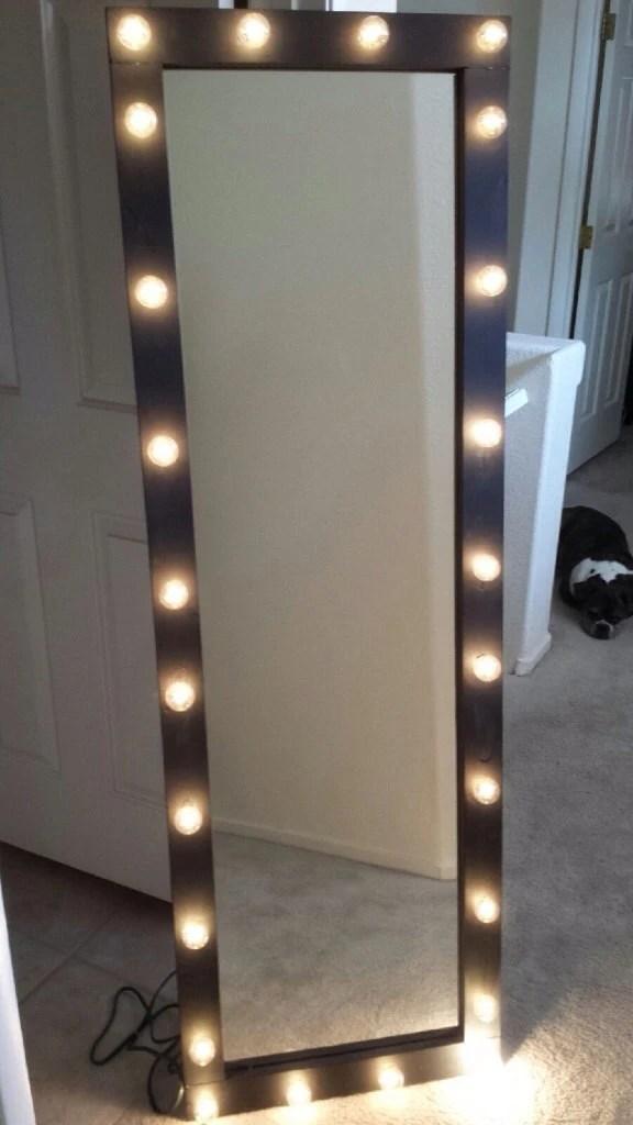Items similar to Full length lighted vanity mirror on Etsy