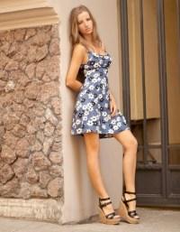 Items similar to Petite dress Floral dress Sexy dress Mini ...