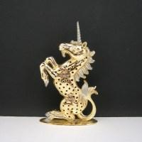 Unicorn Earring Holder Pierced Earrings by AtticDustAntiques