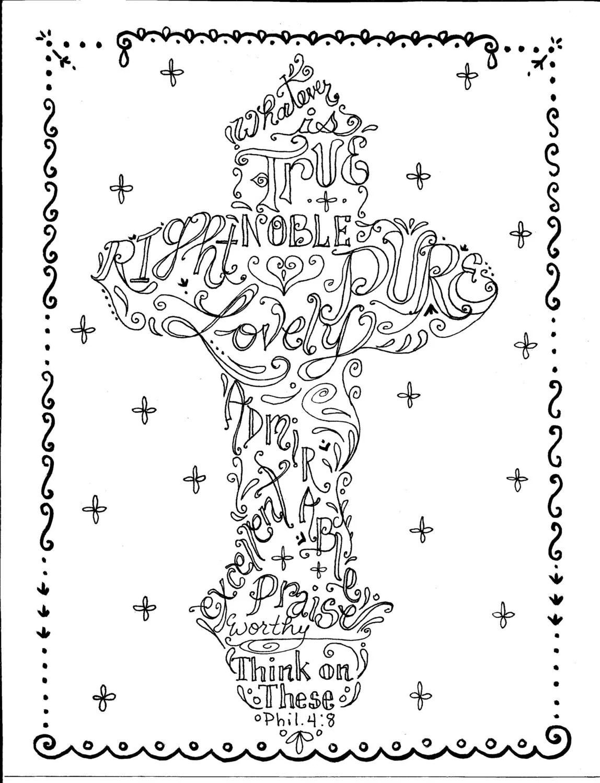 Cross Instant Download Printable Art Scripture Christian