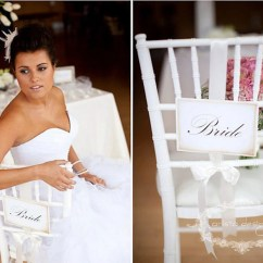 Wedding Bride And Groom Chairs Swivel Office Chair Without Wheels Signs By