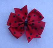 basic hair bows 4 pinwheel