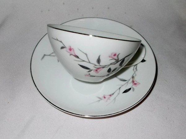 Cherry Blossom Teacup Fine China Japan Vintage Replacement Cup