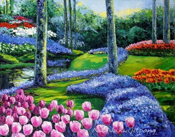tulip garden kaukenhof holland