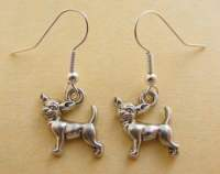 Popular items for chihuahua earrings on Etsy