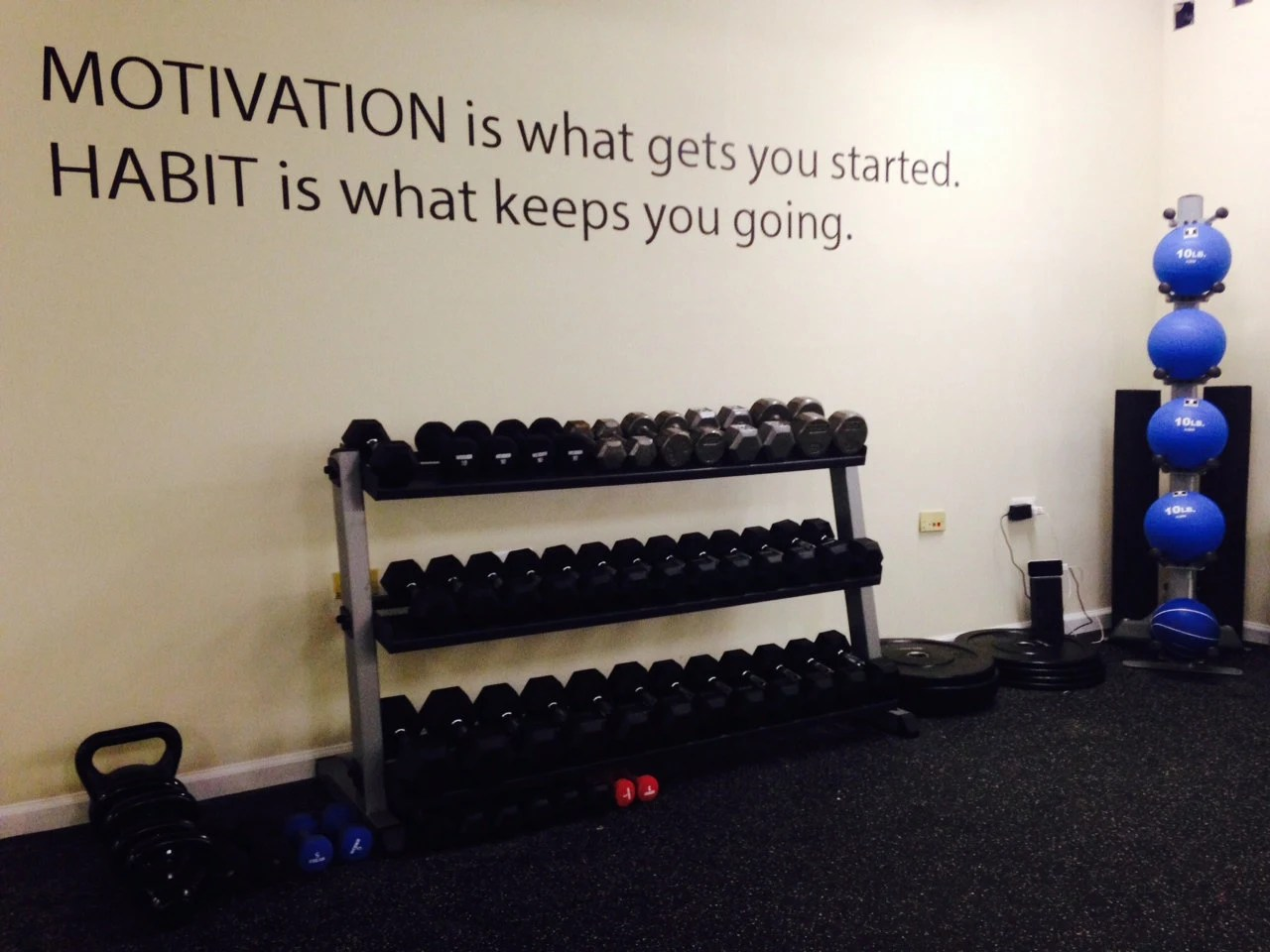 Home Gym Motivation Etsy