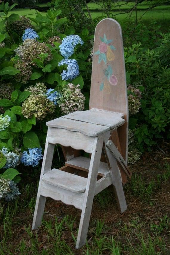 Antiquevintage3 in 1 Jefferson Wood Kitchen High Chair