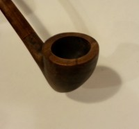 Gandalf Pipe Prototype Functional Cherry Wood Replica