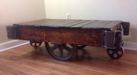 1Sold/ on reserve Warehouse cart coffee table