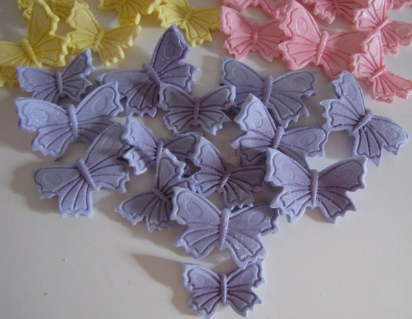 Fondant Butterfly Cake Decorations Toppers