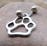 Paw Body Jewelry Body Piercing Navel Belly by ...