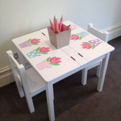 Kids Chair Set King Hours Desk And Tulip Table Children 39