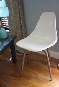 Molded Plastic And Metal Chairs