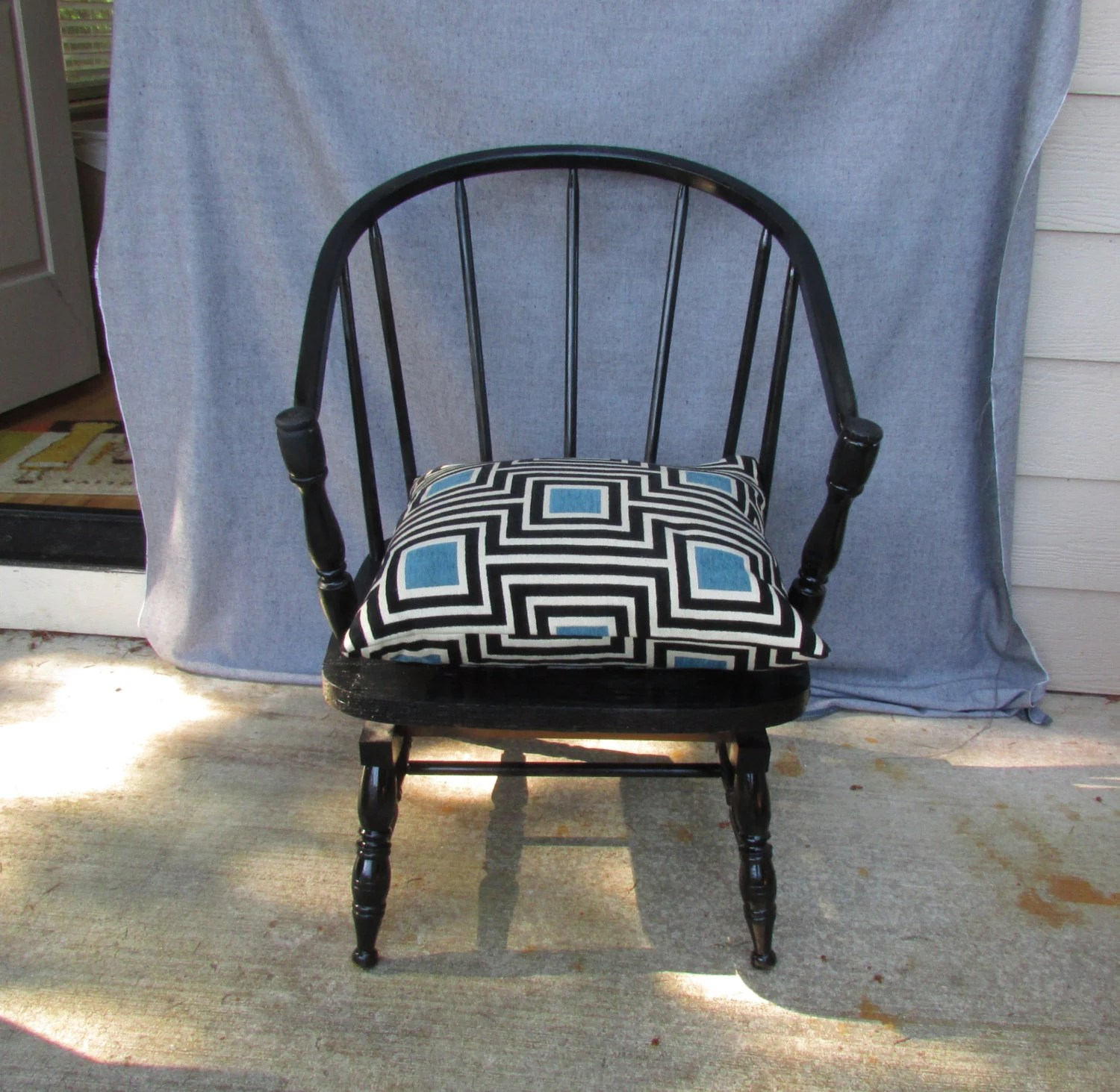 windsor rocking chair cushions heated cover items similar to continuous arm platform