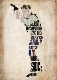 Han Solo Star Wars Poster Minimalist Typography Poster