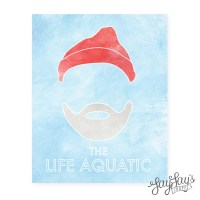 Items similar to The Life Aquatic Wall Art Print, Movie ...