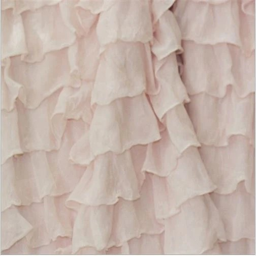 Items Similar To Ruffle Curtain Panel Blush Baby Pink 96 Inches Long By 44 Inches Tall