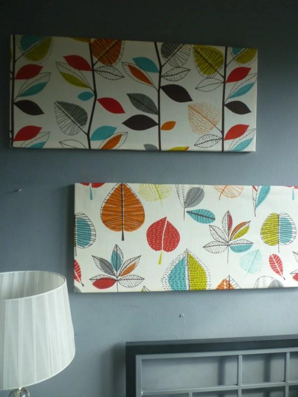 Contemporary Fabric Wall Art