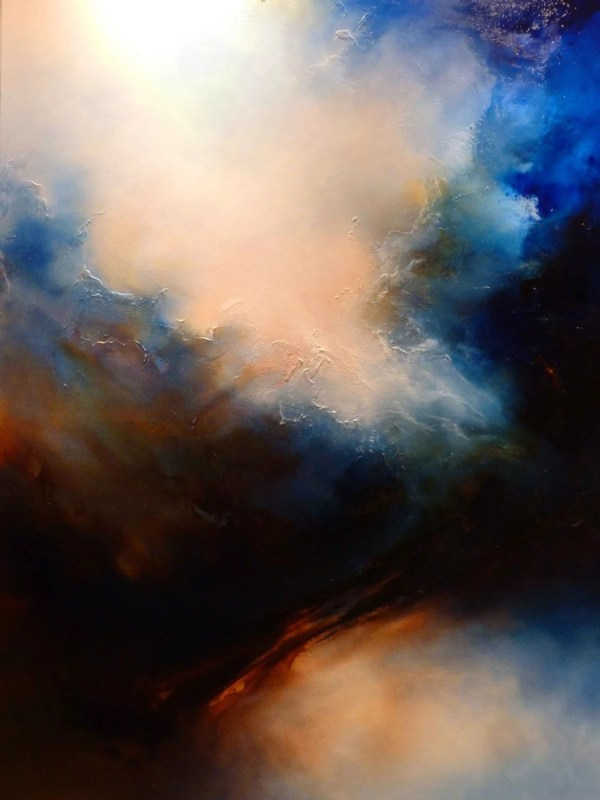 Large Abstract Oil Painting Simon Kenny