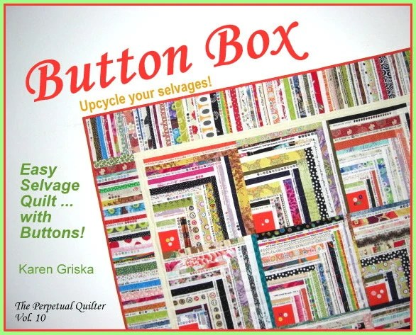 Button Box Selvage Quilt Pattern Quilt Pattern Upcycle
