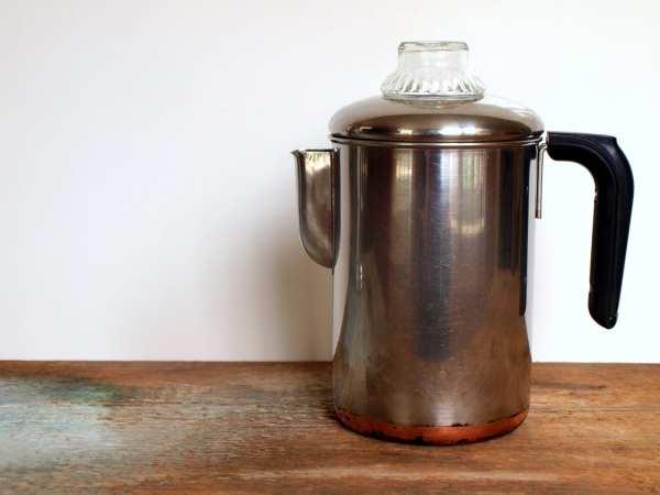 Vintage Revere Ware Coffee Percolator