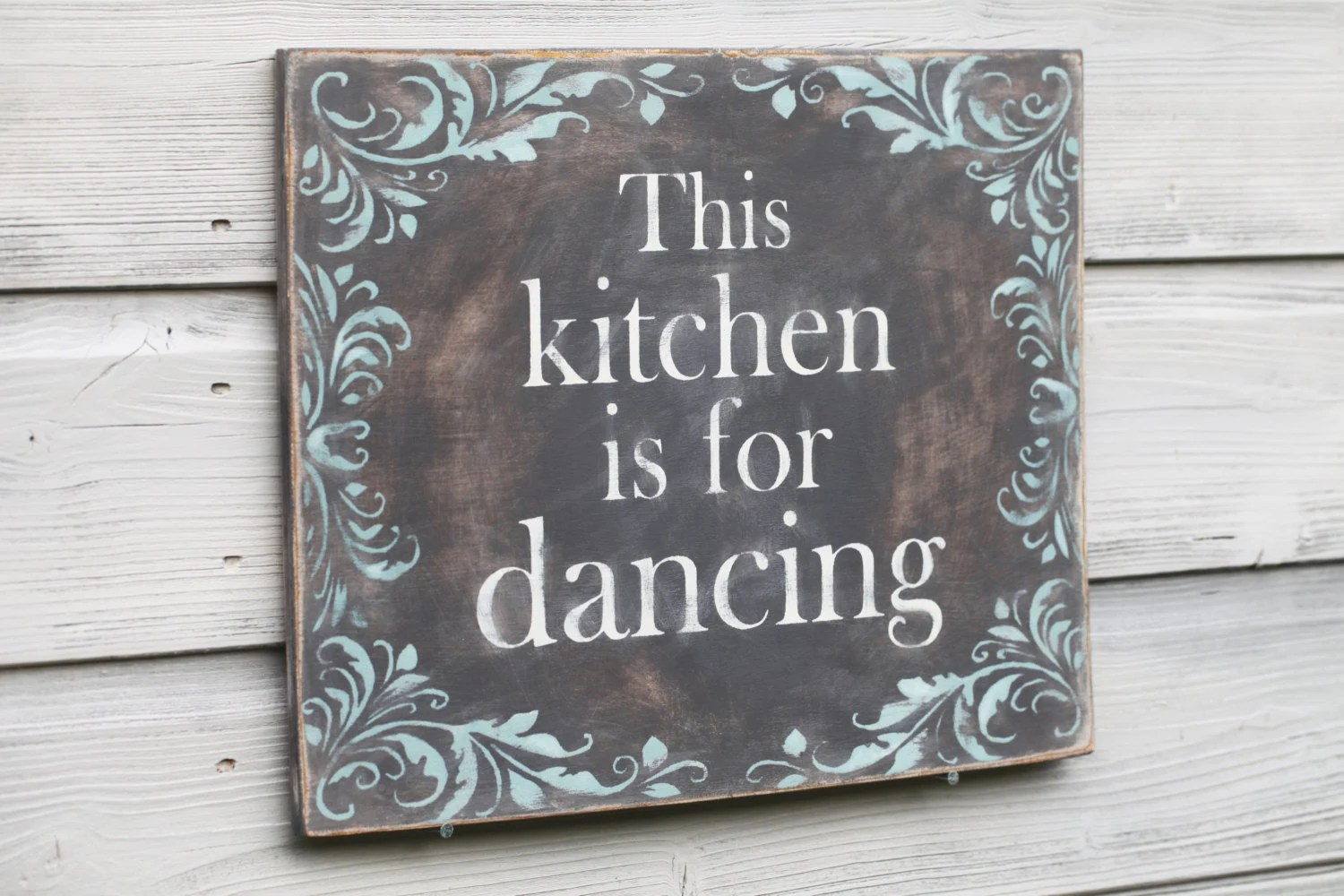 Items similar to This Kitchen Is For Dancing Sign Kitchen