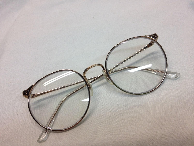 True vintage art craft fulvue gold 49 eye size new for Art craft eyeglasses vintage