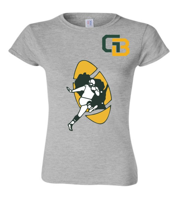 Green Bay Packers Womens T-shirt Block451