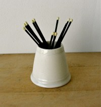Milk Glass MATCH HOLDER and STRIKER Haystack Shape by ...